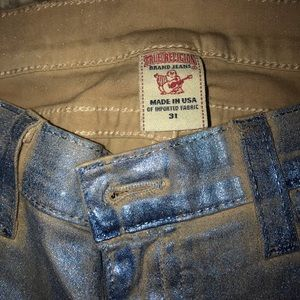 True religion coated jeans